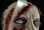 Sound-Activated Life-size SEVERED ZOMBIE HEAD & Light Eyes Gothic Prop-2