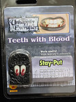FANGS VAMPIRE TEETH with True Blood Gothic Halloween Costume Accessory
