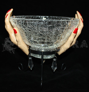 Witch Hand Candy Serving Bowl-1