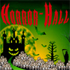 HORROR-HALL gothic display, Halloween party, haunted house, cemetery decorations, dungeon props & vampire decor