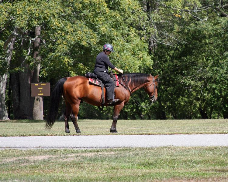 2016-09 Horse Play's NEHT Ride at Goddard Park
