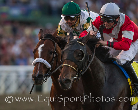 Fort Larned (E Dubai) wins the Breeders' Cup Classic at Santa Anita on 11.3.2012. Brian Hernandez up, Ian Wilkes trainer, Janis Whitham owner.