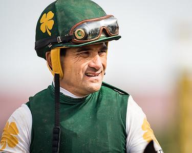 Corey Nakatani at Del Mar 11.03.17.