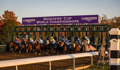 Authentic (Into Mischief) wins the Breeders' Cup Classic at Keeneland on 11.7.2020. John Velazquez up, Bob Baffert trainer, Spendthrift Farm, Myracehorse.com, Madaket Stables and Starlight Racing Stables owners.
