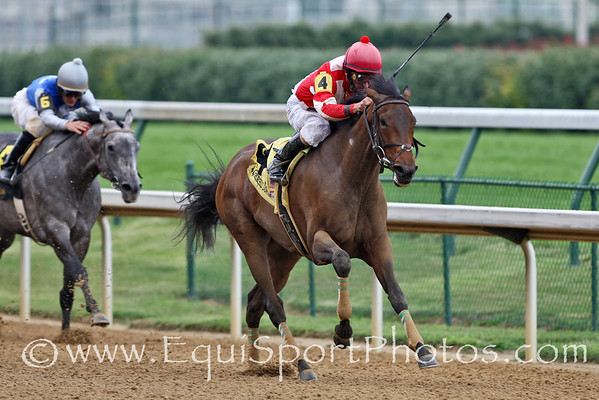 Leo's Pegasus, Robby Albarado up, wins an Allowance at Churchill. 6.30.07