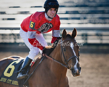Rahystrada (Rahy), Leandro Goncalves up, wins the River City S. at Churchill Downs 11.27.2009mw (EquiSport Photos)