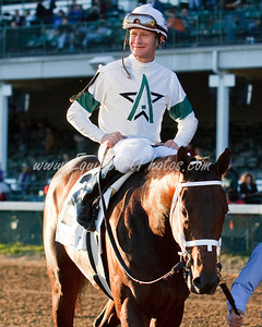 Super Saver (Maria's Mon), Calvin Borel up, wins the Ky. Jockey Club S. at Churchill Downs 11.28.2009mw (EquiSport Photos)