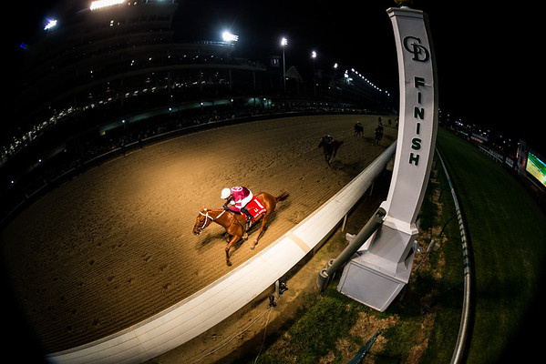 Gun Runner (Candy Ride) wins the Clark Handicap at Churchill Downs on 11.25.2016. Florent Geroux up, Steve Asmussen trainer, Winchell Thoroughbreds and Three Chimney's Farm owners.