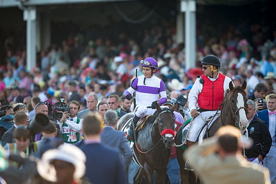 Nyquist (Uncle Mo) wins The Kentucky Derby at Churchill Downs on 5.7.2016. Mario Gutierrez up, Doug O'Neill trainer, Paul Reddam owner.