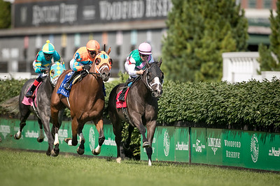 Set Piece (Dansili) wins the Wise Dan Stakes (G2) at Churchill Downs on 6.26.21. Florent Geroux up, Brad Cox trainer, Juddmonte Farm owner.