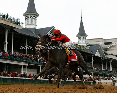 Anak Nakal, Julien Leparoux up, wins the Ky. Jockey Club Stakes at Churchill Downs. 11.24.2007