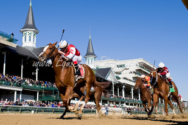 She's Extreme (Unbridled's Song), Miguel Mena up, wins an Allowance at Churchill 11.29.2008mw ( Horse Racing Photos by EquiSport Photos )