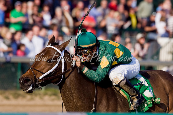 Auspicious (Indian Charlie), Shaun Bridgmohan up, breaks Maiden at Churchill 11.01.2008mw ( Horse Racing Photos by EquiSport Photos )