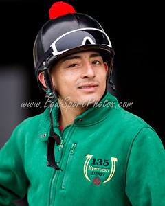 Gabriel Saez at Keeneland 4.02.2012