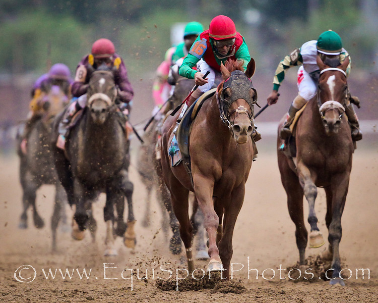 Animal Kingdom (Leroidesanimaux) wins the 137th Kentucky Derby at Churchill Downs on 05.07.2011.  John Valasquez up, Graham Motion trainer, Team Valor International owner