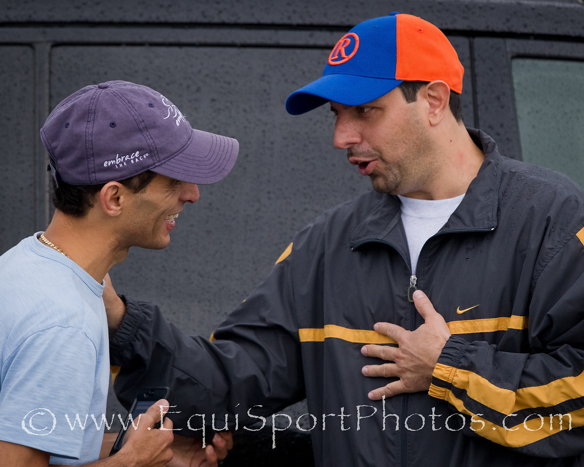 Mike Repole and John Velazquez at Churchill 5.01.2011