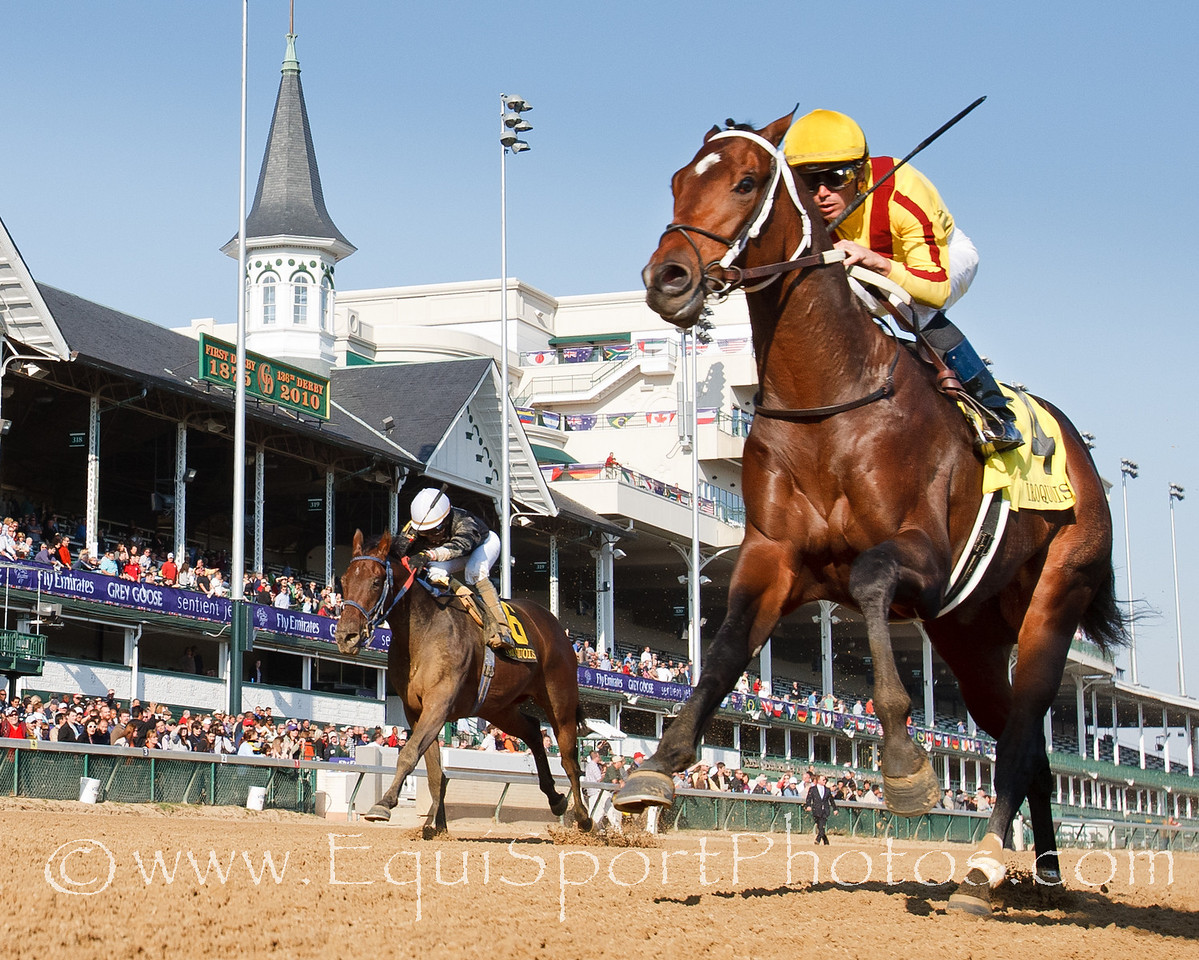 Astrology (A.P. Indy), Garrett Gomez up, wins The Iroquois Stakes (G3) for Steve Asmussen, and owners Stonestreet Stables and George Bolton, at Churchill Downs 10.31.2010mw