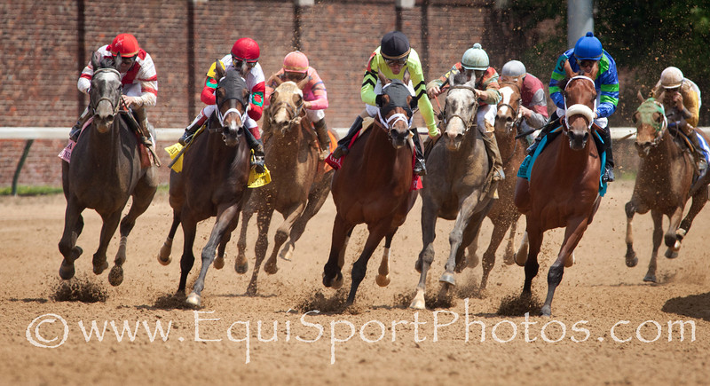 At the Turn at the 26th running of The La Troienne (G2) race at Churchill Downs 05.06.11.