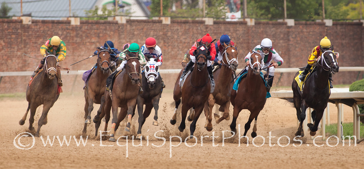 Aikenite (Yes It's True) wins The Churchill Downs (G2) 05.07.11.  John R. Velazquez up, Todd A. Pletcher trainer, Dogwood Stable (W. Cothran Campbell) owner.