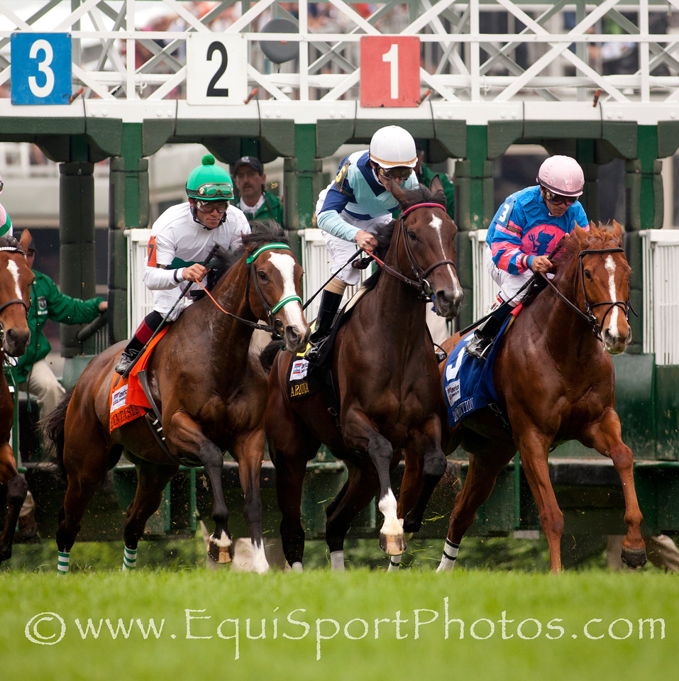 Starting gate at The Churchill Distaff Turf Mile (G2) 05.07.11