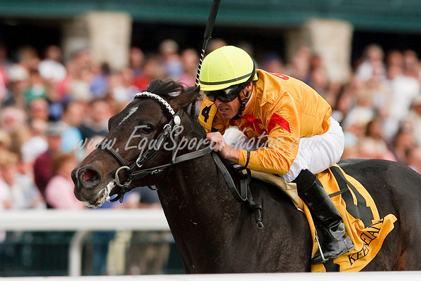 Remand (Successful Appeal), E.T. Baird up, wins a Maiden Special Weight at Keeneland 10.29.2009mw
