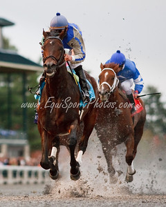 Blame (Arch), Jamie Theriot up, wins the G2 Fayette Stakes at Keeneland 10.31.2009mw
