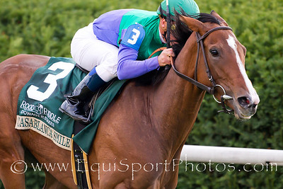 Casablanca Smile (Ocean Terrace), Javier Castellano up, wins the Rood & Riddle Dowager S. at Keeneland 10.24.2010ww