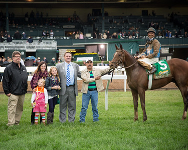 Brody's Cause (Giants' Causeway) wins the Breeders' Futurity (G1) at Keeneland on 10.03.2015. Corey Lanerie up, Dale Romans trainer, Albaugh Family Stable owners.