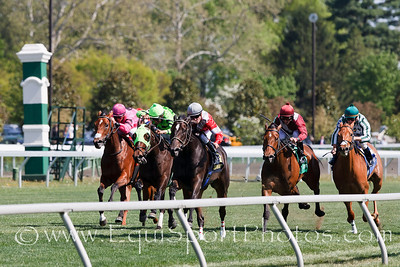 Ivory Empress (Seeking The Gold), Julien Leparoux up, wins an Allowance at Keeneland 04.17.2010