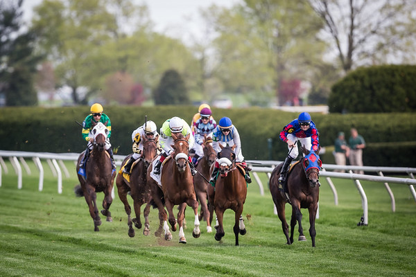 Unbelievable Dream (Kitalpha) wins the Appalachian Stakes (G3) at Keeneland on 4.18.2013. Joel Rosario up for his 5th win of the day, Barclay Tagg trainer, Sure Thing Stables owner (Michael McGuire).