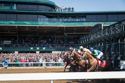 It was a beautiful day for racing on Bluegrass Stakes day.