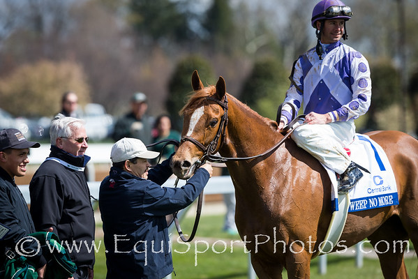 Weep No More (Mineshaft) wins The Ashland (G1) at Keeneland on 4.9.2016. Corey Lanerie up, Rusty Arnold trainer, Ashbrook Farm owner.
