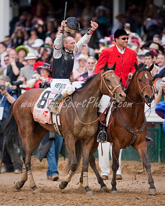 Mine That Bird (Birdstone), Calvin Borel up, wins the Kentucky Derby at Churchill Downs 05.02.2009mw (EquiSport Photos)