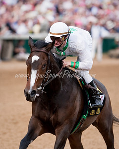 Rachel Alexandra (Medaglia D'Oro), Calvin Borel up, wins the Kentucky Oaks at Churchill Downs 05.01.2009 (EquiSport Photos)
