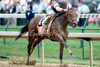 Mine That Bird (Birdstone), Calvin Borel up, wins the Kentucky Derby at Churchill Downs 05.02.2009jb (EquiSport Photos)