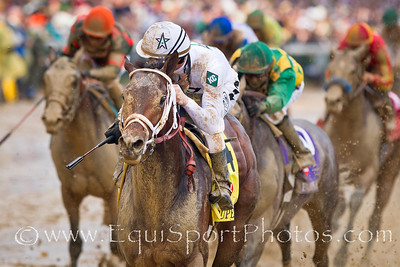 Super Saver (Maria's Mon), Calvin Borel wins the Kentucky Derby at Churchill Downs 05.01.10mw