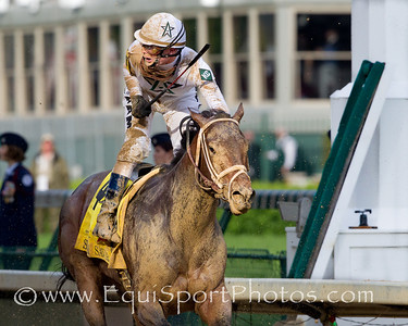 Super Saver (Maria's Mon), Calvin Borel wins the Kentucky Derby at Churchill Downs 05.01.10wu