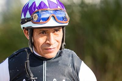 Edgar Prado at Ky. Downs 9.09.17.