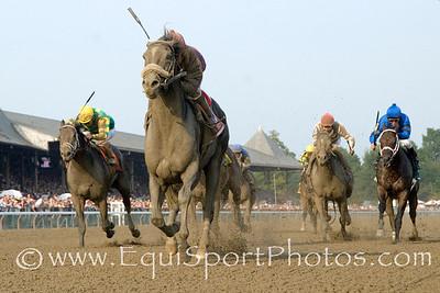 Jackson Bend, Corey Nakatani up, win The Forego Stakes