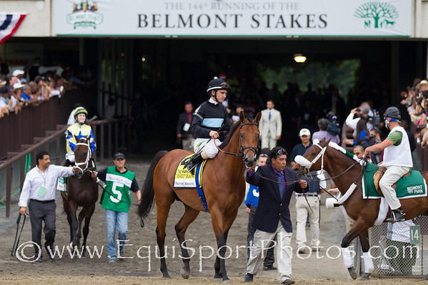 Desert Blanc (GB) wins the 111th running of The Woodford Reserve Manhattan with Ramon Dominguez aboard.  He is trained by C. C. Brown and owned by Swift Thoroughbreds, Mackie Racing, Vintage Thoroughbreds, LLC. and Bradley Thoroughbreds.