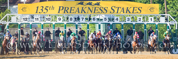 Lookin At Lucky (Smart Strike), Martin Garcia up, wins the Preakness Stakes at Pimlico Race Course 5.15.2010.