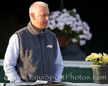 Todd Pletcher at Pimlico 5.19.2012