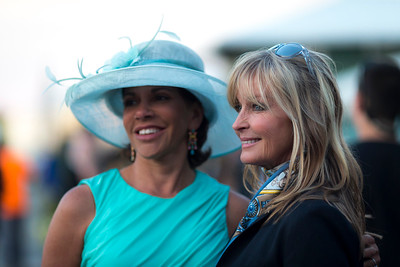 Bo Derek at the Preakness after party at the barns.