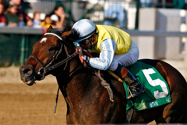 Istan, with Kent Desormeaux up, wins the Ack Ack Stakes at Churchill Downs, Louisville, Ky. 11.03.2007