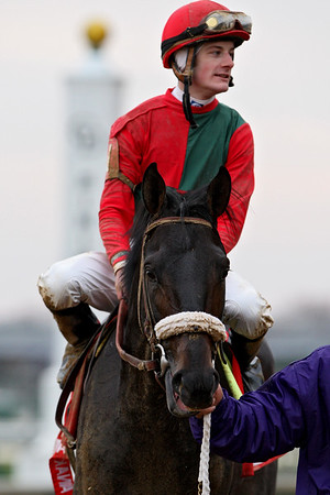 Anak Nakal, with Julien Leparoux up, wins the Ky. Jockey Club Stakes at Churchill. 11.24.2007