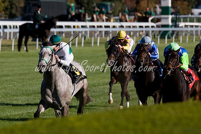 Forever Together (Belong To Me), Julien Leparoux up, wins the First Lady S. (G1) at Keeneland 10.03.2008mw ( Horse Racing Photos by EquiSport Photos )