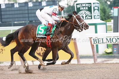 Dagnabit (Freud), Cornelio Velasquez up, wins the Tremont at Belmont Park 6.29.2008sk ( Horse Racing Photos by EquiSport Photos )
