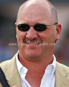 Ken McPeek at Turfway Park 9.27.2008