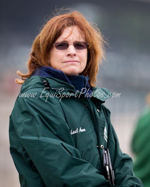Michael Ann Ewing at Keeneland 4.02.2012
