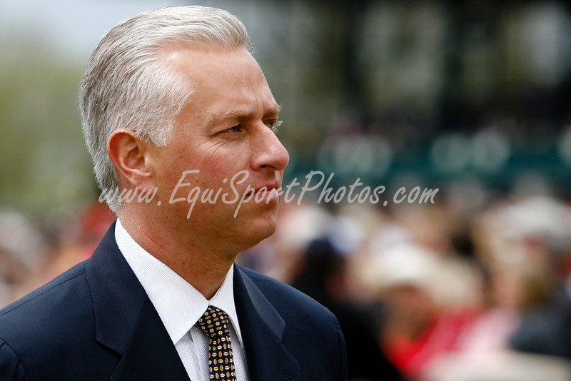Todd Pletcher at Keeneland 4.19.2008